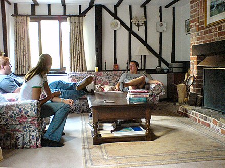 A Tudorbethan Sitting Room In The UK