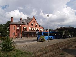 Skara station, den 20 aug 2006.JPG