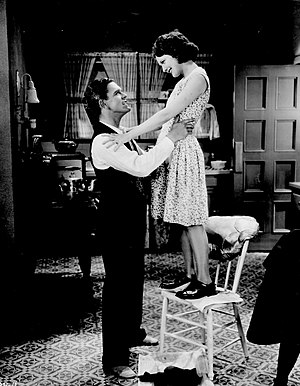 Merna Kennedy - Kennedy and Glenn Tryon from the 1929 film Skinner Steps Out