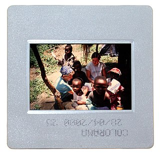Reversal film type of photographic film that produces a positive image on a transparent base