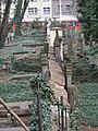 Smíchov, Malostranský hřbitov, z Duškovy (04).jpg