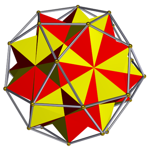 Compound of five octahedra - Five octahedra in an icosidodecahedron