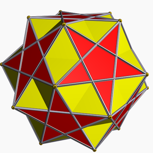 Pentagrammic cuploid - Image: Small ditrigonal icosidodecahedron