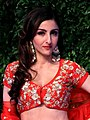 Soha Ali Khan at the Shaadi By Marriott fashion show (04) (cropped).jpg