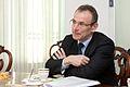 Solvita Āboltiņa tiekas ar ES attīstības komisāru (5536971976).jpg