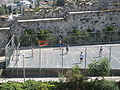 Some guys playing soccer right outside the old city (1350300979).jpg