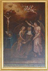 extase de Sainte-Marguerite de Cortone