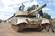 South African Olifant tank, 2011