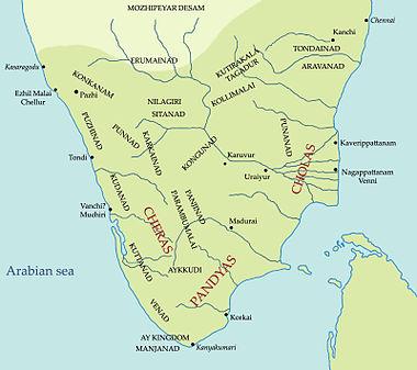 south india in sangam period