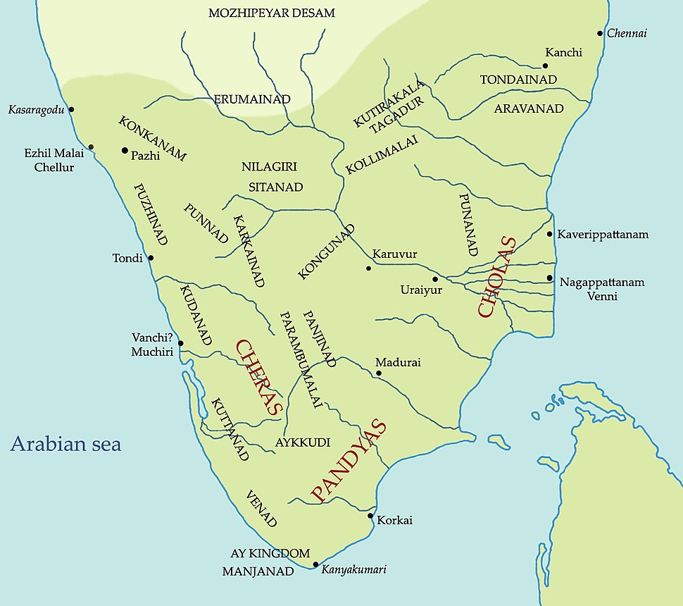South India in Sangam Period