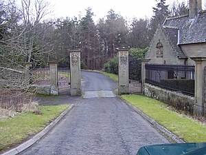 St Andrew's College, Drygrange - Image: South entrance to Grange Hall geograph.org.uk 701267