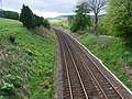 Southbound railway line from Stonehaven to Montrose - geograph.org.uk - 809024.jpg