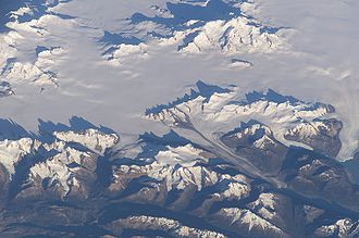 Ice field - Southern Patagonian Ice Field