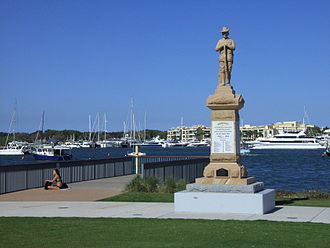 Southport, Queensland - ANZAC memorial, 2011