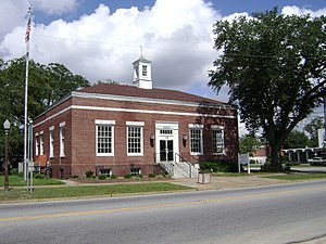 National Register of Historic Places listings in Cook County, Georgia - Image: Southwest corner of Cook County Historical Society Museum