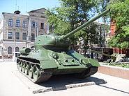 Soviet tank model Т-34-85, Kharkiv, Ukraine