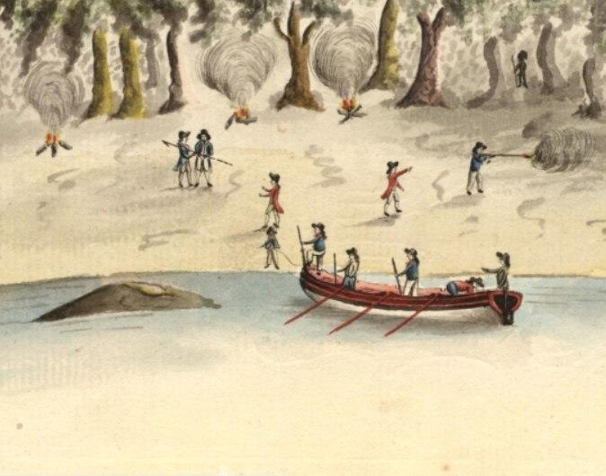 Spearing of Arthur Phillip