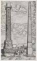 Speculum Romanae Magnificentiae- Column of Antoninus and a Roman Obelisk MET DP870473.jpg