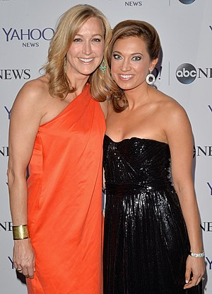 Ginger Zee - Lara Spencer (left) and Zee at the 2014 Pre-White House Correspondents' Dinner Reception Pre-Party