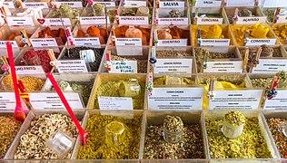 Spices of Saúde flea market, São Paulo, Brazil.jpg