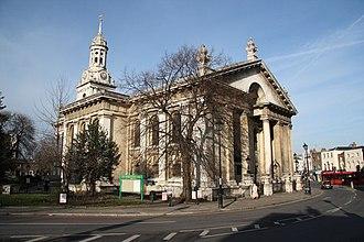 St Alfege Church, Greenwich - Image: St.Alfege's church geograph.org.uk 1168786