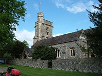 St.Michael Church in Chenies from the east - geograph.org.uk - 7623.jpg