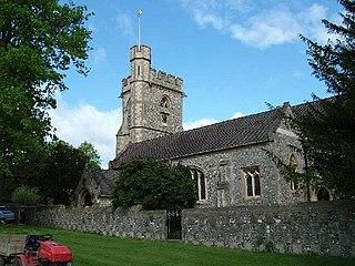 St Michaels, Chenies church in Chenies, UK