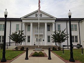 St. Clair County Courthouse in Ashville, Alabama.JPG