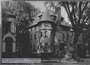 St. Elmo (secret society) - St. Elmo's 1st Tomb, 1895, at 111 Grove Street