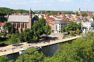 Brandenburg an der Havel Place in Brandenburg, Germany
