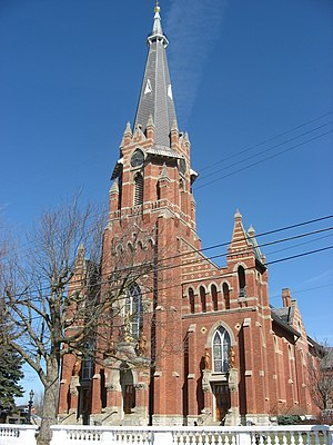 Fort Loramie, Ohio - St. Michael's Catholic Church, a community landmark