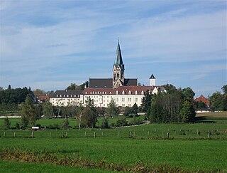 Rhabanus-Maurus-Gymnasium St. Ottilien Gymnasium, day & boarding school in St. Ottilien, Eresing, Bavaria, Germany