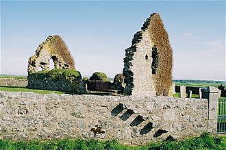 Rattray, Aberdeenshire - The ruined St Mary's Chapel