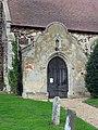 St Andrew, West Dereham, Norfolk - Porch - geograph.org.uk - 321389.jpg