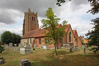 St Edmund and St Mary's Church, Ingatestone - St Edmund and St Mary's from the southeast.