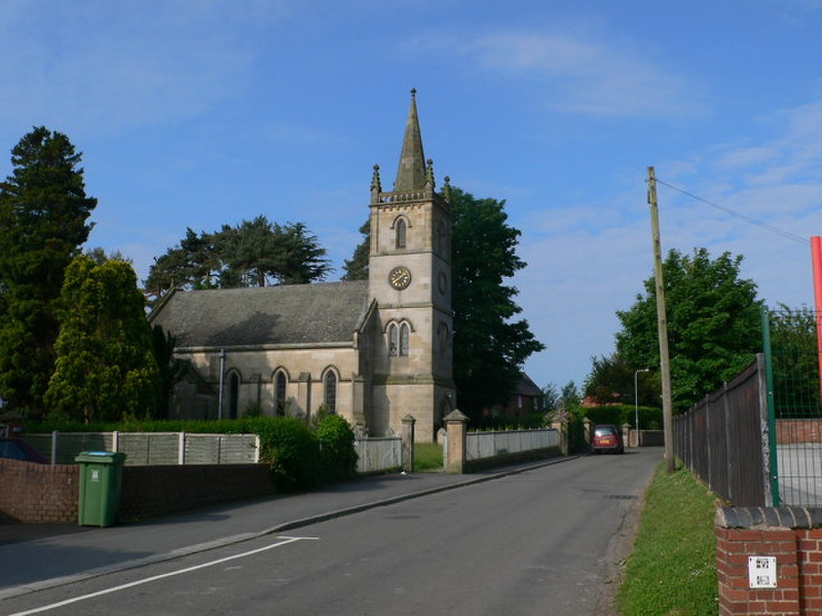 St Edward's Church, Dorrington - geograph.org.uk - 830097.jpg