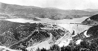 St. Francis Dam Dam in Los Angeles County, California, United States