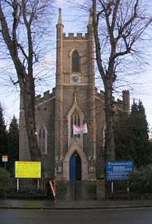 St James Church, Enfield Highway Church in Middlesex, United Kingdom