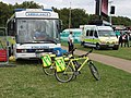 St John Ambulance bicycles in Hyde Park - geograph.org.uk - 934786.jpg