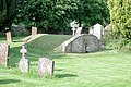St Martin, Sandford St Martin, Oxon - Churchyard - geograph.org.uk - 1622723.jpg