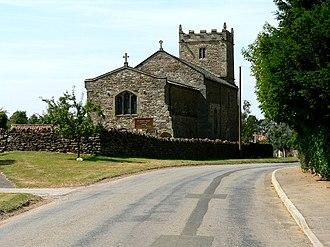 Bulmer, North Yorkshire - Image: St Martins Church, Bulmer