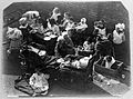 St Mary's Hospital, Plaistow; children having a meal outdoor Wellcome L0013435.jpg