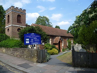 Stephen Hales - St Marys Church, Teddington
