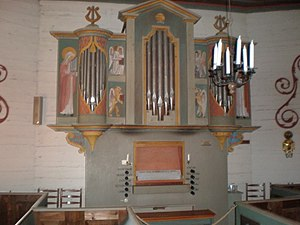 Tylösand - The chapel's organ
