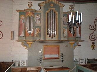 Tylösand - The chapel's organ