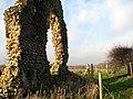 St Saviour's church - the ruined east wall - geograph.org.uk - 1632467.jpg