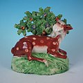 Staffordshire pottery pearlware, circa 1820, ram and bocage.jpg