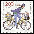 Stamp Germany 1995 Briefmarke Postzustellerin.jpg