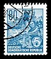 Stamps GDR, Fuenfjahrplan, 80 Pfennig, Buchdruck 1953, 1957.jpg