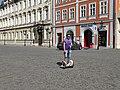 Staré Město, Ovocný trh 12 a 14, segwayista.jpg